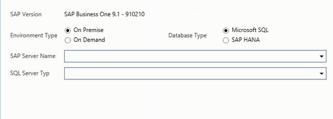 SAP B1 Cloud Connector